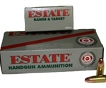 Estate Range 38 Special 130 Grain Full Metal Jacket Ammunition