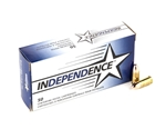 Independence 9mm Luger Ammo 124 Grain Full Metal Jacket