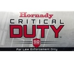 Hornady Critical Duty LE 9mm Luger Ammo +P 135 Grain FlexLock