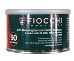 Fiocchi Canned Heat 223 Remington 55 Grain Full Metal Jacket Ammunition