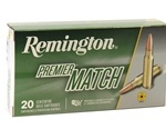 Remington Premier Match 308 Winchester 168 Grain SMK BTHP
