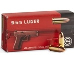 Geco 9mm Luger Ammo 115 Grain Full Metal Jacket