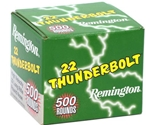 Remington Thunderbolt 22 Long Rifle 40 Grain Lead Round Nose Bulk