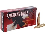 Federal American Eagle 22-250 Remington 50 Grain Jacketed Hollow Point Ammunition