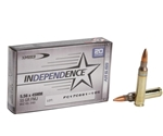Federal Independence Ammo 5.56x45mm NATO 55 Grain M193 Full Metal Jacket Boat Tail Ammunition