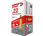 Aguila SuperMa 22 Long Rifle Ammo Hyper Velocity 30 Grain Hollow Point