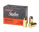 PMC Gold 380 ACP AUTO Ammo 95 Grain Starfire Jacketed Hollow Point