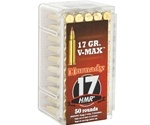 Buy Hornady Varmint Express 17 HMR Ammo 17 Grain Hornady V-Max at Target Sports USA. Enjoy free shipping on bulk 17 HMR ammunition for sale online.