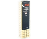 CCI 22 Long High Velocity Ammo 29 Grain Lead Round Nose