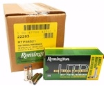 Remington HTP 38 Special +P 125 Grain Semi Jacketed Hollow Point
