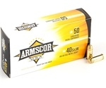 Armscor USA 40 S&W Ammo 180 Grain Full Metal Jacket
