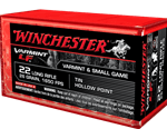 Winchester Super-X 22 Long Rifle 26 Grain Hollow Point Lead-Free Ammunition