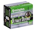 Remington Ultimate Defense 380 ACP AUTO Ammo 102 Grain Brass JHP