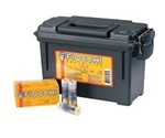 "Fiocchi Ammo 12 Gauge 2 3/4"" 1oz. Aero Rifled Slugs 80 Rounds in Ammo Can Ammunition"