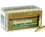 Remington Premier 17 HMR Ammo 17 Grain Accutip-V Boat Tail