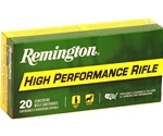 Remington 22-250 Remington Ammo 55 Grain Pointed Soft Point