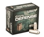 Liberty Civil Defense Ammo 40 S&W 60 Grain Fragmenting Hollow Point Lead-Free Ammunition