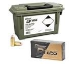 CCI Blazer Brass 45 ACP Auto Ammo 230 Grain Full Metal Jacket 200 Rounds in Ammo Can