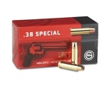 Geco 38 Special Ammo 158 Grain Jacketed Hollow Point