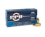 Prvi Partizan 9mm Luger Ammo 115 Grain Full Metal Jacket