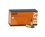 Eley Club 22 Long Rifle Ammo 40 Grain Lead Round Nose