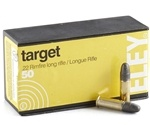 Eley Target 22 Long Rifle Ammo 40 Grain Lead Round Nose