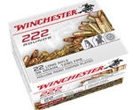 Winchester 22 Long Rifle Ammo 36 Grain Plated Lead Hollow Point 222 Rounds Bulk