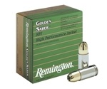 Remington Golden Saber 40 S&W Ammo 165 Grain Brass Jacketed Hollow Point