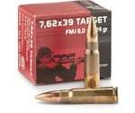 Geco 7.62x39mm Ammo 124 Grain Full Metal Jacket