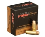 PMC Bronze 10mm Auto Ammo 170 Grain Jacketed Hollow Point