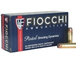 Fiocchi 44 Remington Magnum Ammo 240 Grain Jacketed Soft Point