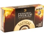 Federal HST LE 357 SIG Ammo 125 Grain Jacketed Hollow Point