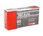 Aguila 380 ACP AUTO Ammo 95 Grain Full Metal Jacket