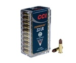 CCI 22 Long Rifle 21 Grain Copper Plated Hollow Point