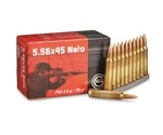 Geco 5.56x45mm NATO Ammo 55 Grain Full Metal Jacket