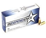 Independence 9mm Luger Ammo 115 Grain Full Metal Jacket
