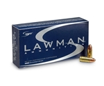 CCI Speer Lawman Ammunition 9mm Luger 115 Grain Full Metal Jacket Box of 50