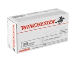 Winchester USA 38 Special Ammo 130 Grain Full Metal Jacket