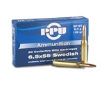 Prvi Partizan Ammo 6.5x55mm Swedish Mauser 139 Grain Soft Point Ammunition