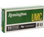 Remington UMC 380 ACP AUTO Ammo 95 Grain Full Metal Jacket
