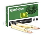 Remington UMC 223 Remington 55 Grain Full Metal Jacket Ammunition