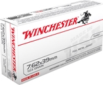 Winchester USA 7.62x39mm Russian 123 Grain Full Metal Jacket