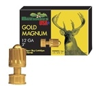 "Brenneke USA Gold Magnum 12 Gauge 3"" 1-3/8 oz Lead Rifled Slug Ammunition"