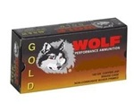 Wolf Gold 9mm Makarov Ammo 100 Grain Full Metal Jacket