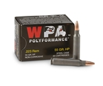 Wolf Rifle Ammunition 223 Remington 55 Grain Jacketed Hollow Point Box of 20