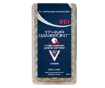 CCI Game Point 17 HMR Ammo 20 Grain Jacketed Soft Point