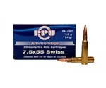 Prvi Partizan 7.5x55mm Swiss Ammo 174 Grain Full Metal Jacket