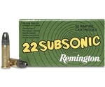 Remington Subsonic 22 Long Rifle 38 Grain Hollow Point