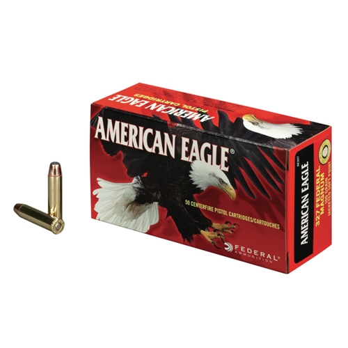 Federal American Eagle 327 Federal Magnum Ammo 100 Grain JSP