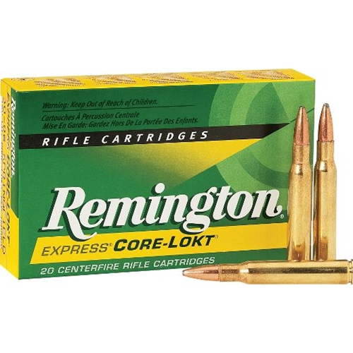 Remington express 30 06 springfield ammo 125 grain core lokt pointed
